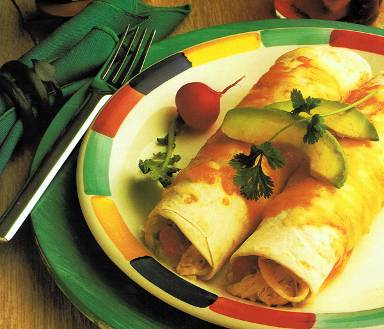 Recipes: Green Chile Turkey Enchiladas for Women over 45!
