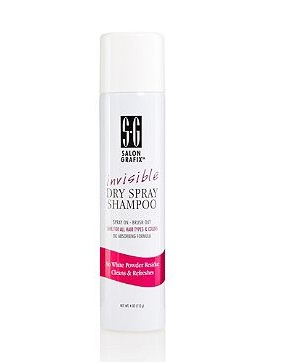 Salon Grafix Invisible Dry Spray Shampoo Review–Women over 45