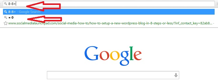 how to make google your search bar