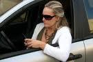 woman driving darn mini van