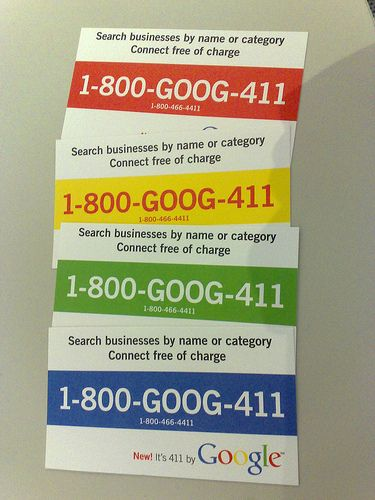 Did you know that Google has free 411?