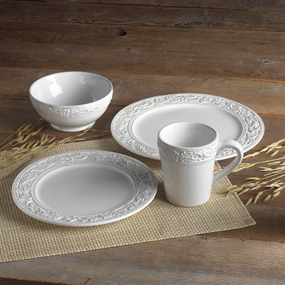 pfaltzgraff country cupboard 16-piece dinnerware set 1