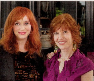 Christina-Hendricks-Jackie Stept-Hairstyles-Women-over-45