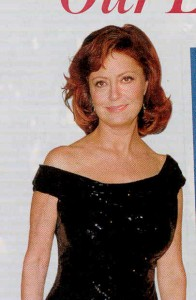 Susan Sarandon Hairstyles for women over 45