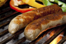 Chicken Sausage Kebab Recipe with Original Bratwurst by Brat Hans