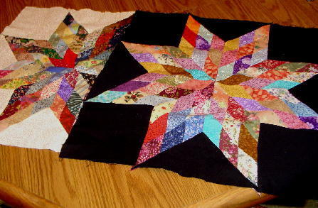 blazing star quilt pattern
