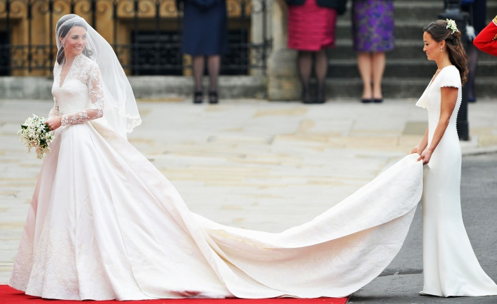 Kate and Phillipa Middleton Royal Wedding