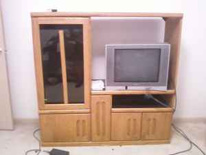 Old Entertainment Center 1