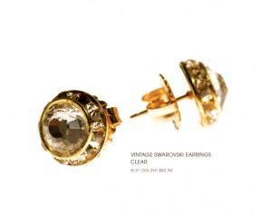 Bloom Jewelry Vintage Swarovski Earrings