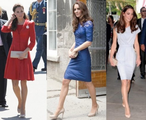 Kate Middleton Wears Sheer Pantyhose For Queen