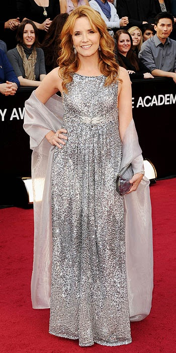 Lea Thompson Oscars 2012