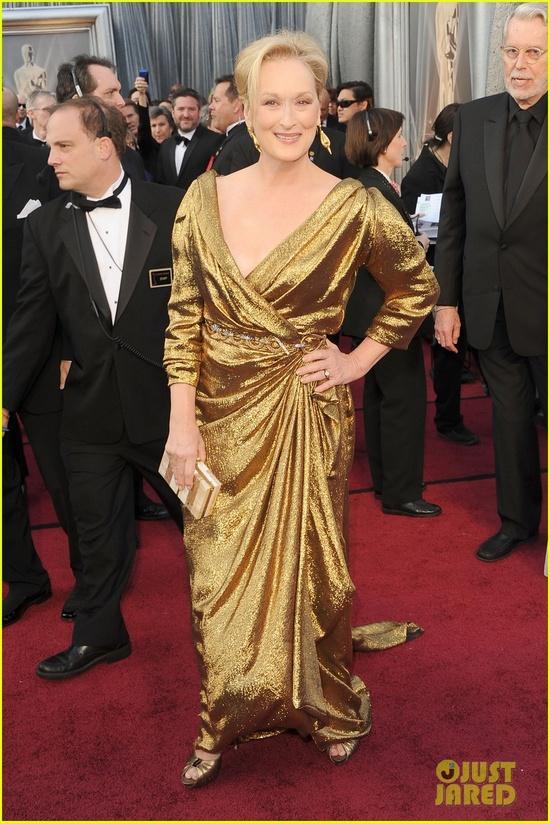 Meryl Strep 2012 Oscars