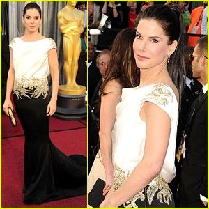 Sandra Bullock Oscars 2012