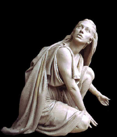 The Empty Tomb, Master Sculpture of Mary Magdalene