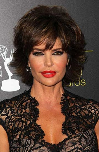 Lisa Rinna Hairstyles Women over 45
