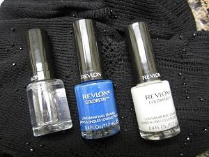 Revlon Colorstay Indigo Blue Nail Polish