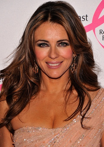 elizabeth-hurley-47 Hairstyles Women over 45