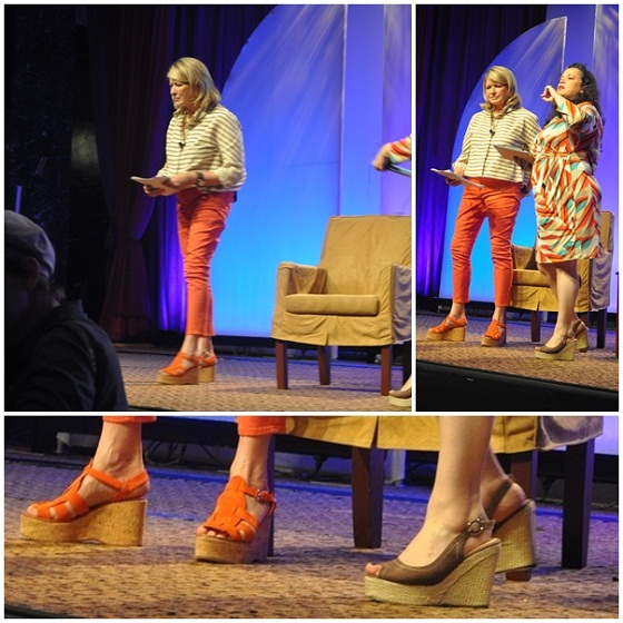 Martha stewart shoes blogher12