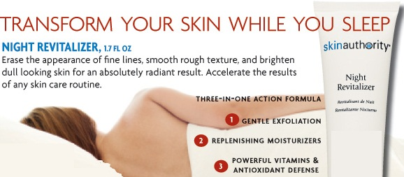 Skin Authority Night Revitalizer