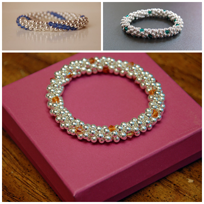 The Jewel Trilogy Hallee Bridgeman bracelets