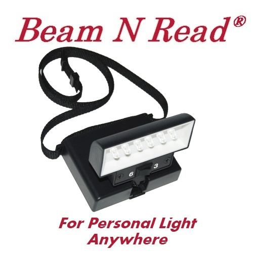 Beam N Read Review, Personal light anywhere