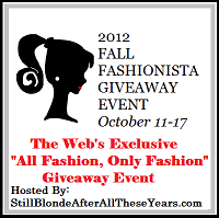 Fall Fashionista Events, Web's largest Fashion giveaway ENDS TONIGHT