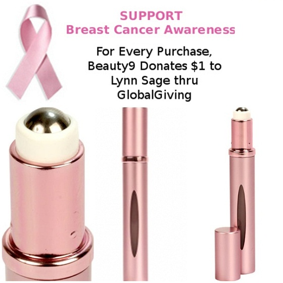 Travalo Review touch Breast Cancer Awareness