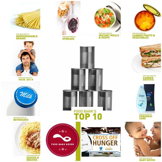 Feeding America Unilever