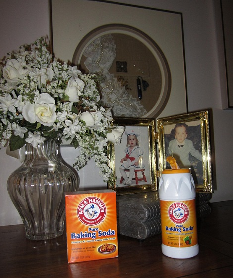 Holiday bridal Shower baking soda cleaning tips