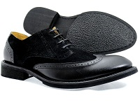 Suede Leather oxford Men's Christmas Wedding Shoes