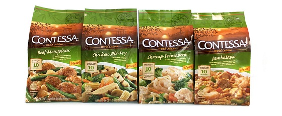 Contessa World Cuisine Meal