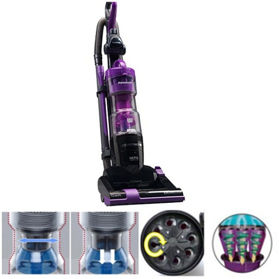 Panasonic Jetforce Vacuum MC-UL427   Review, Holiday Cleaning