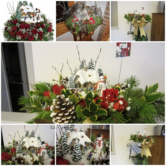 thomas-kinkades-winter-wonder-teleflora collage