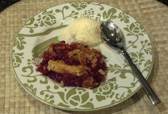 Raspberry Dump Cake Recipe