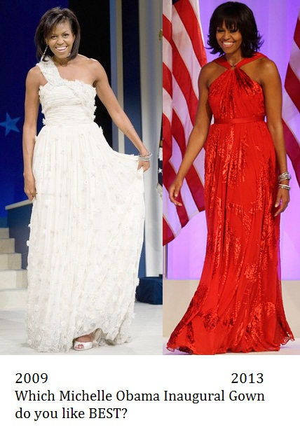 Laura Bush\'s inaugural gown was actually very nice (Reply #11 ...