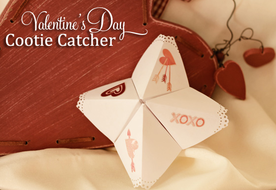 cootie catcher valentine day craft martha stewart crafts
