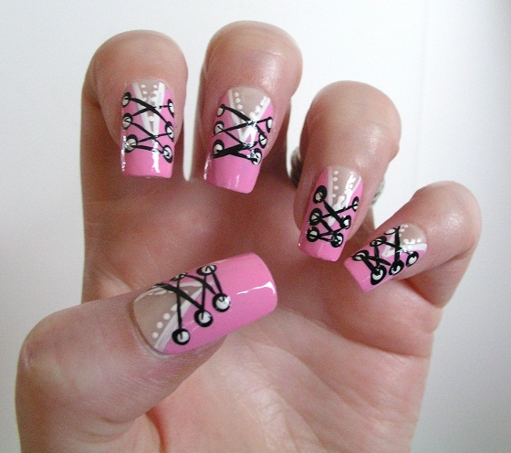 Valentine Manicure Corset Nail treatment