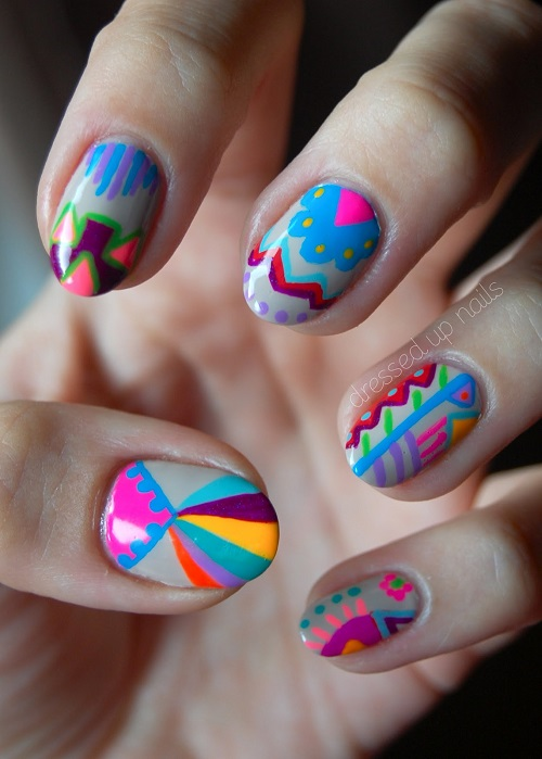 Easter Manicures Nail Treatments Dressed Up Nails