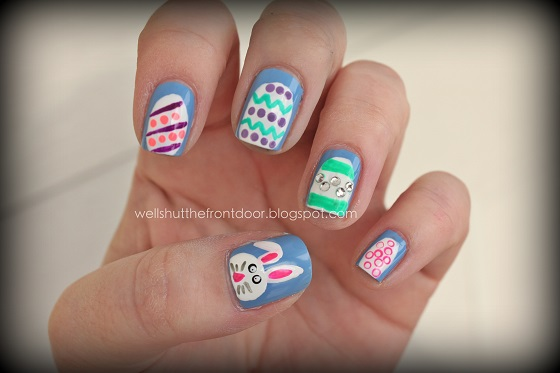 Easter Manicures Nail Treatments Shut the front