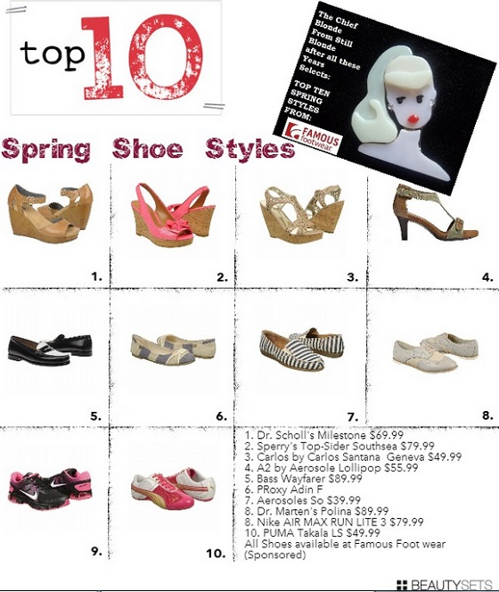 Top Spring Shoe Styles 2013 for Women over 45 — Famous Footwear