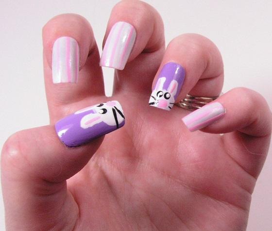 Easter Bunny Nails: Bunny Nail Treatment
