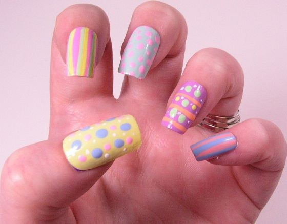 Easter Manicures Nail Treatments Lisas Impressive Nails