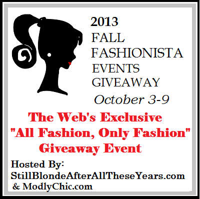 Fall Fashionista Events 2013