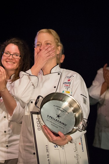 Almost Famous Chef Kristin Thibeault Winner