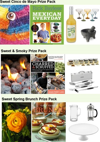 Livin' the Sweet Life prize packages
