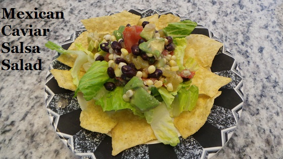 Mexican Caviar Salsa Salad Recipe Sunshine Sweet corn