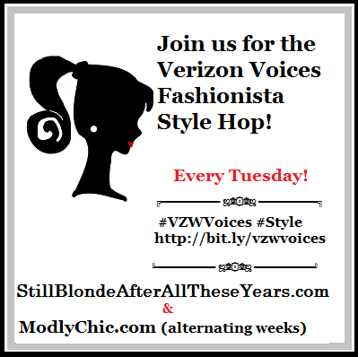 Verizon Voices Fashionista Style Hop button