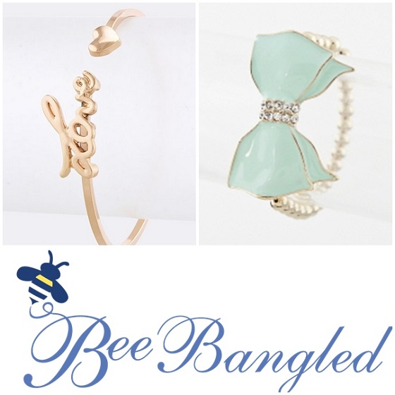 bee bangled collage
