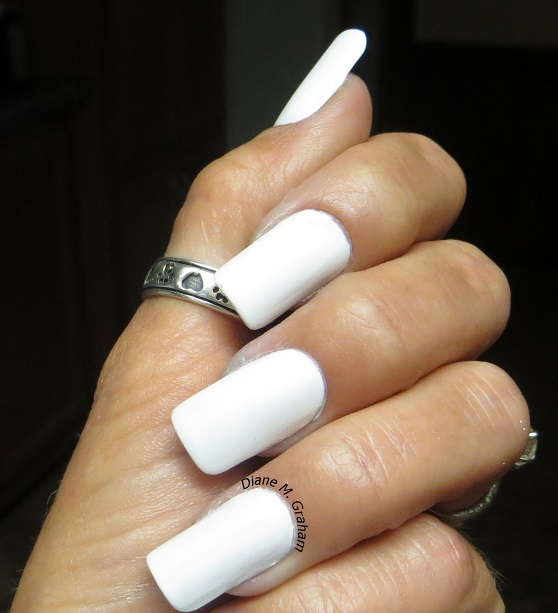 White, No Red, No Blue  Fourth of July Manicure