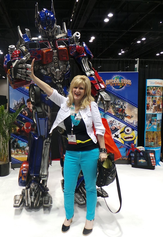 Blogher2013 Optimus Primus Still blonde after all these YEARS
